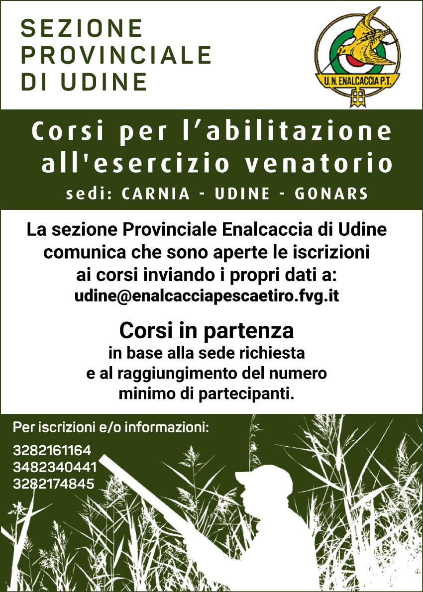 Carnia, Udine, Gonars. Ripartono i corsi